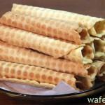 Вкусные домашние вафельные трубочки своими руками