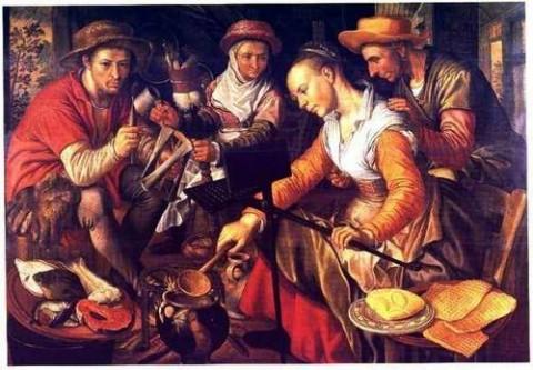 История возникновения вафель