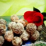 Готовим домашние конфеты из вафли, шоколада и орехов