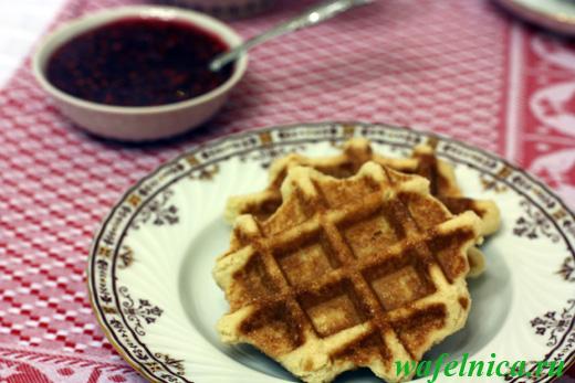 Тесто для вафельницы рецепт простой